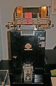 Powers Samas accounting machine 1948
