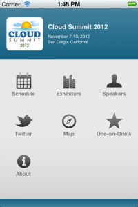 Cloud Summit 2012 Mobile App