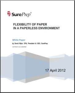 Paperless Tax Preparation White Paper