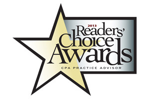 2013 Readers' Choice for Accounting