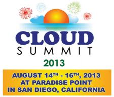 Cloud Computing Summit 2013 in San Diego is hosted by Cloud9 Real Time