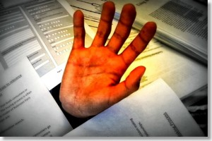 don't get buried without paperless document management