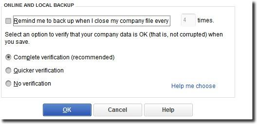 QuickBooks Cloud Backup TLG issue isolated