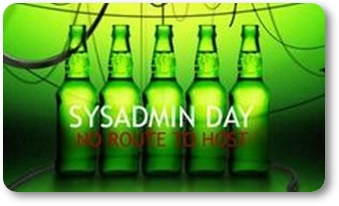 sysadmin day at cloud9, cheers mates!