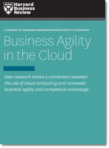 Cloud Computing Agility HBR Report