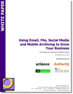 cloud based archiving white paper