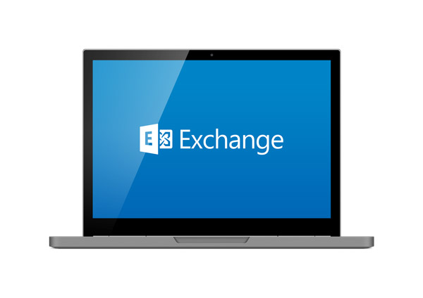 computer with exchange hosting